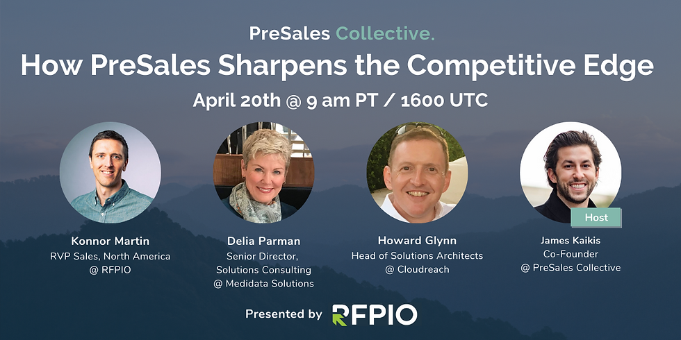 How PreSales Sharpens the Competitive Edge