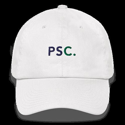 White PSC Adjustable Hat