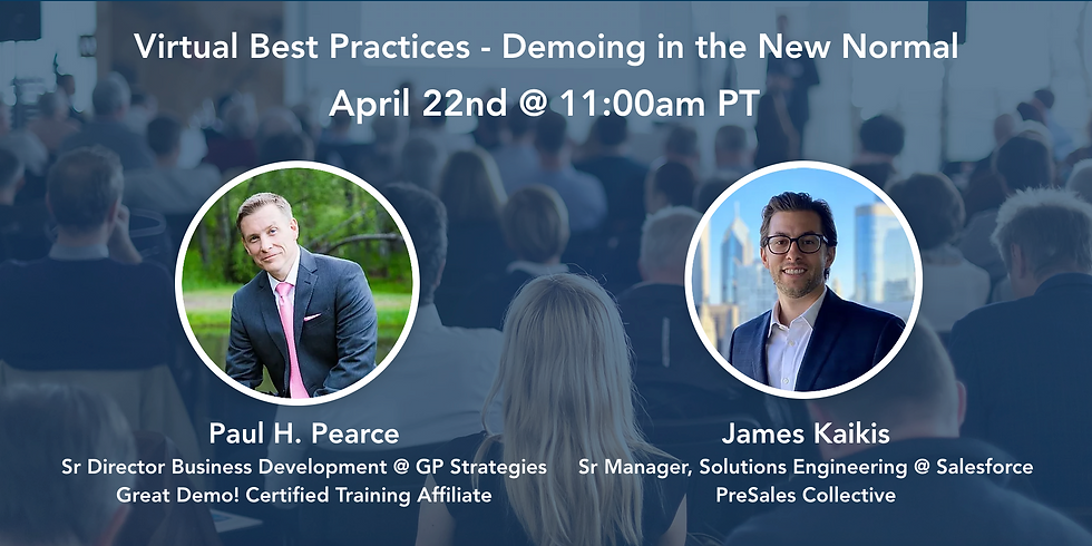 Virtual Best Practices - Demoing in the New Normal