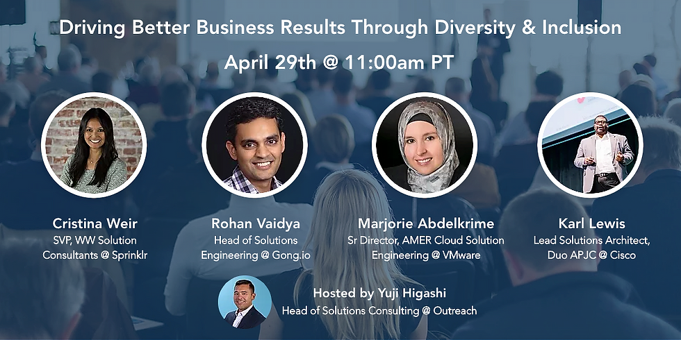 Driving Better Business Results Through Diversity & Inclusion