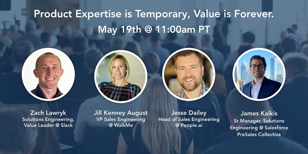 Product Expertise is Temporary, Value is Forever