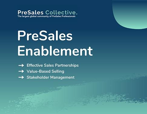 PSC - PreSales Enablement - Announcement
