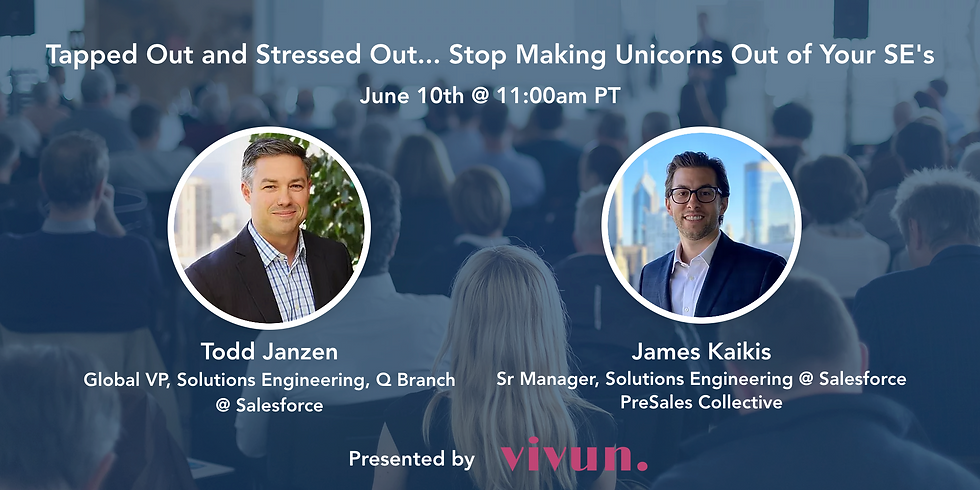 Tapped Out and Stressed Out...Stop Making Unicorns Out of Your SE's