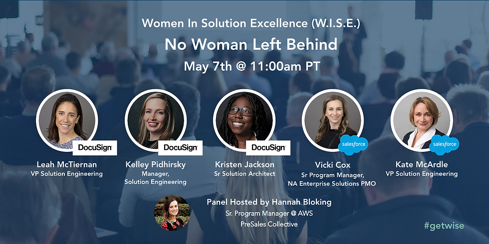 WISE: No Woman Left Behind