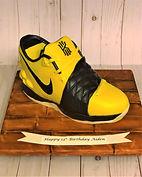 Sports shoe Birthday Cake