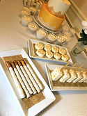 Wedding treats table