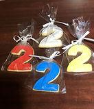 number 2 sugar cookies