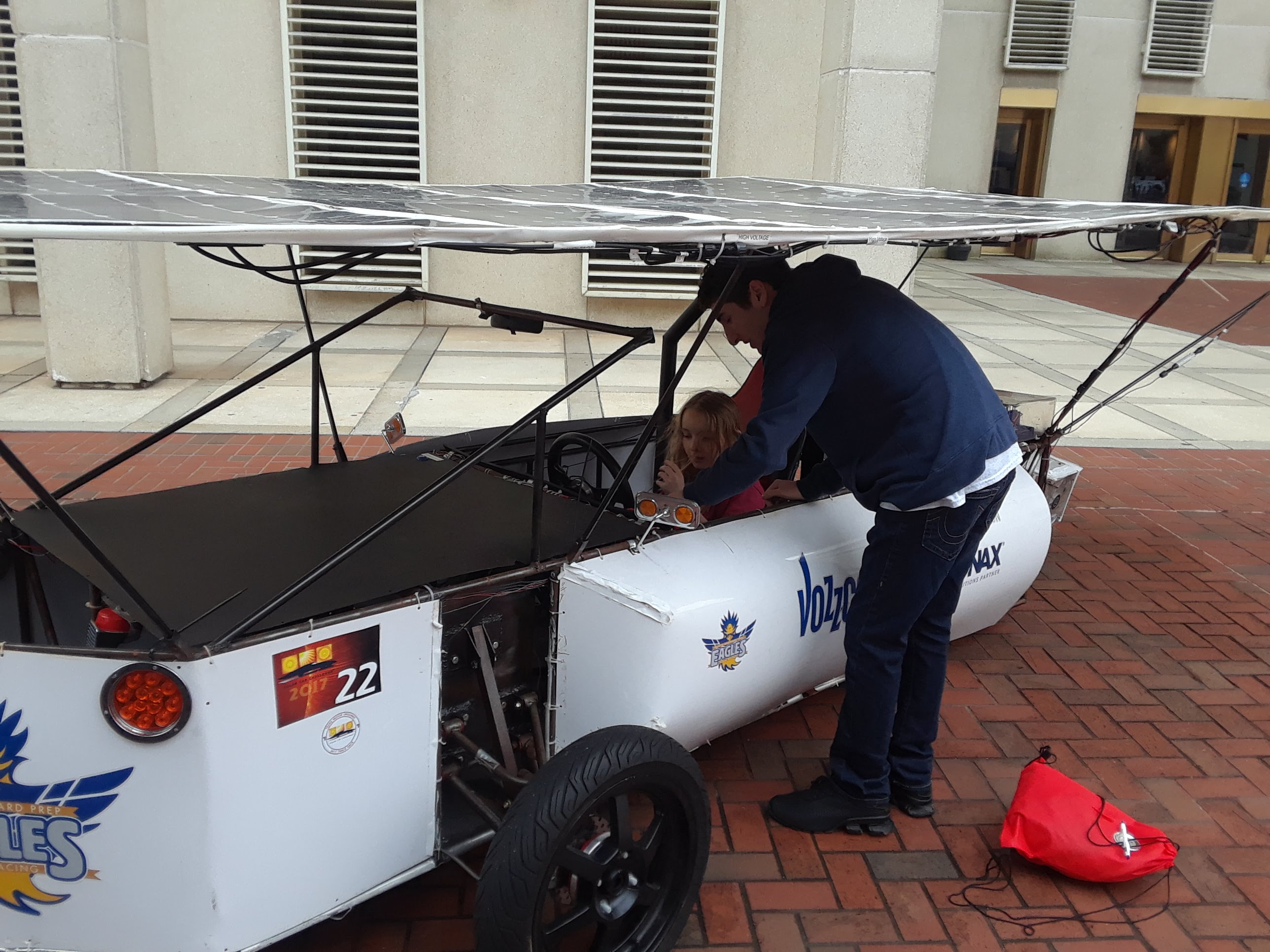 Showing People the Solar Car