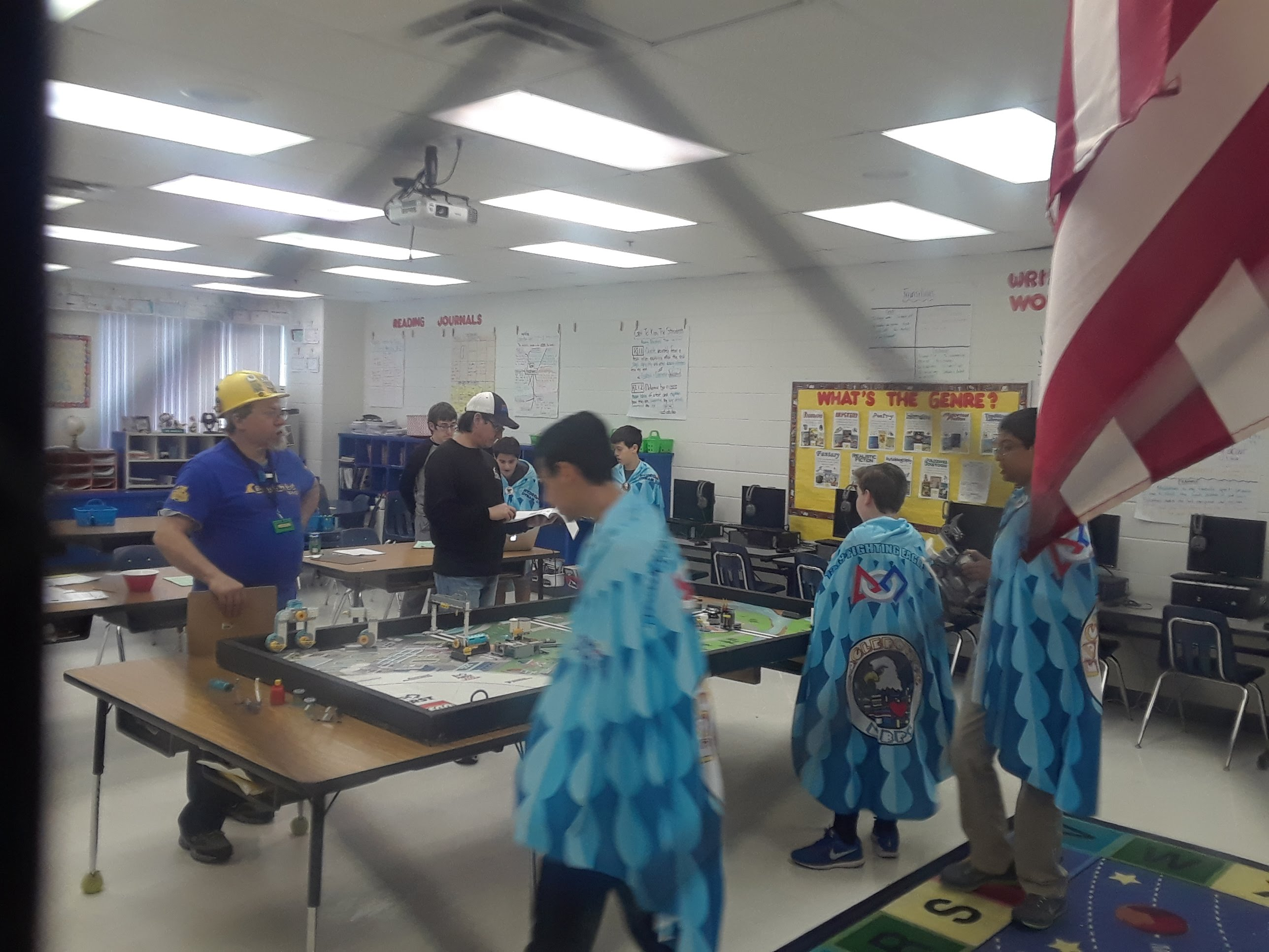 FLL Competing