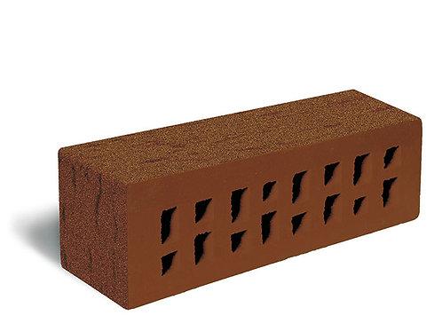 Клинкер лицевой коричневый Береста с песком Мюнхен