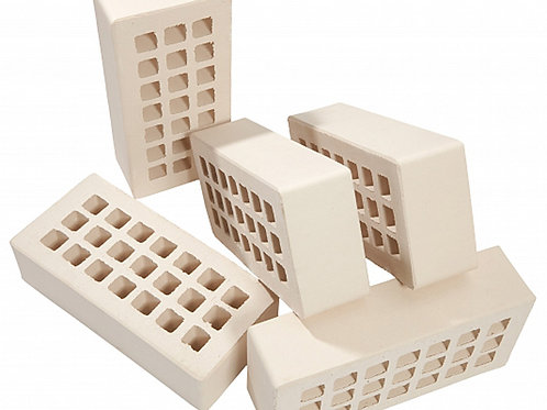 Кирпич облицовочный керамический Белый гладкий