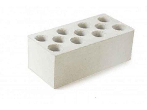 Кирпич силикатный утолщенный пустотелый (Белый)