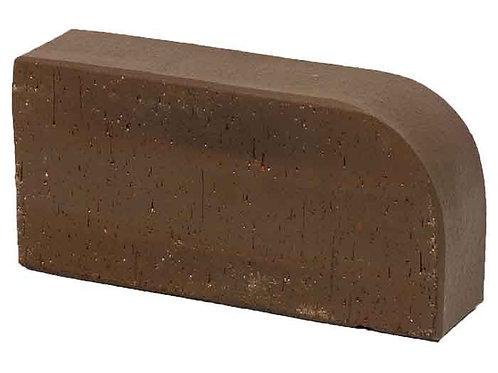 Кирпич печной полнотелый с фаской М-250 коричневый R-60 (2-й сорт)