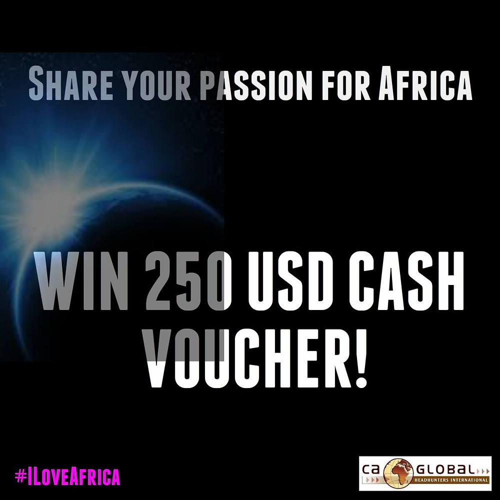 Jobs in Africa Recruitment Competition _#ILoveAfrica