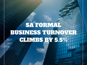 Formal business turnover in SA climbs by 5.5%