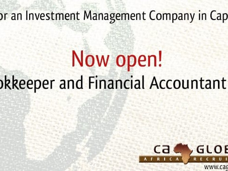 Bookkeeper and Financial Accountant jobs in Cape Town