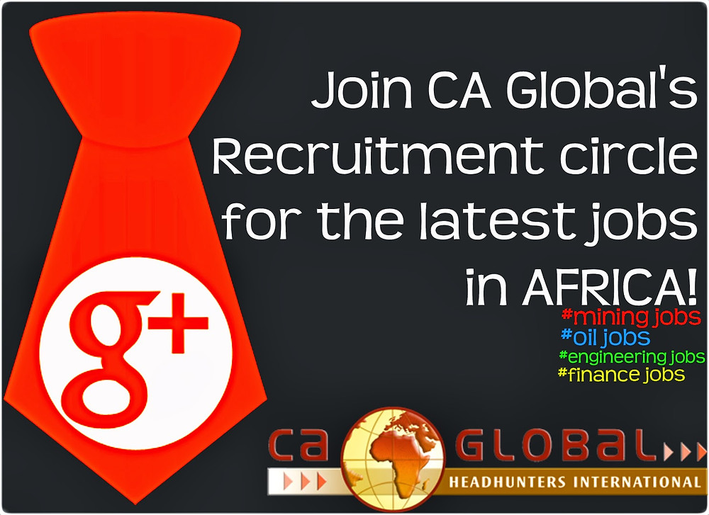 Recruitment in Africa circle