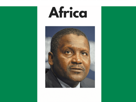 The Richest Man in Africa: Aliko Dangote