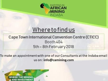 Come meet CA Mining at Mining Indaba 2018