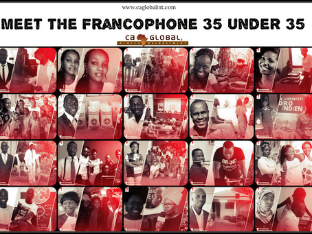 Francophone Africa: 35 under 35 Africa Innovators to watch!