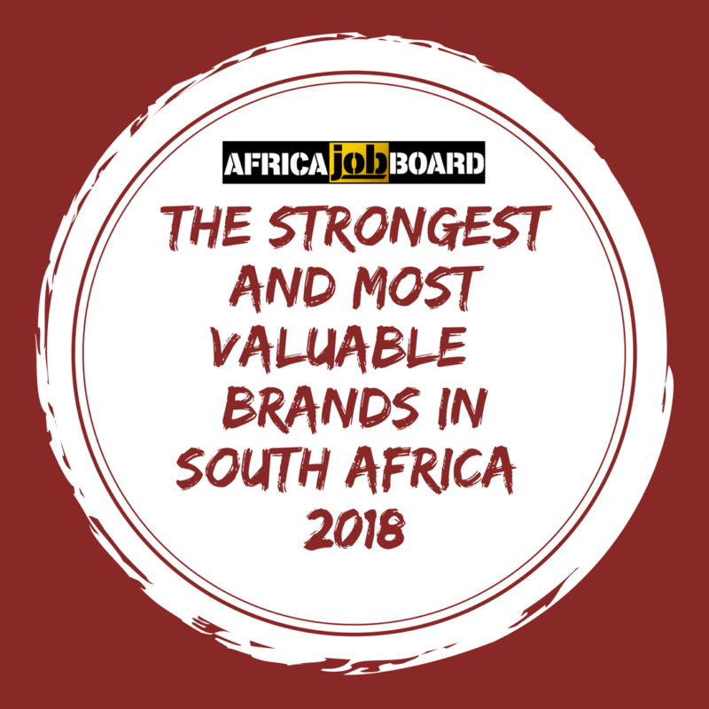 Strongest brands, most valuable South African brands 2018