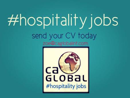 Hospitality Jobs and Recruitment in Africa | CA Global Headhunters