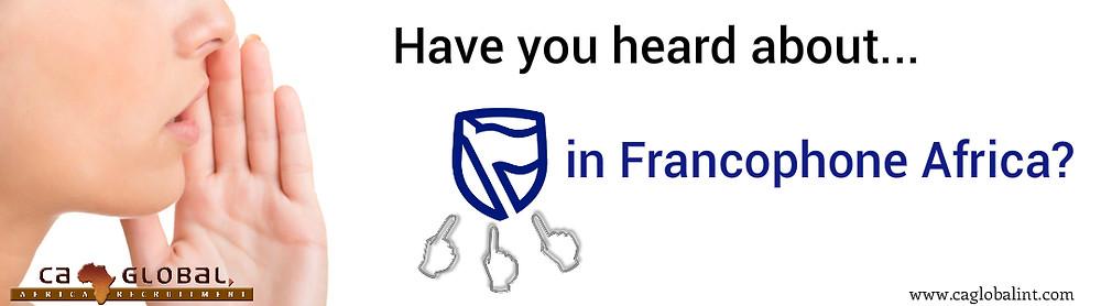 Standard Bank Francophone Africa CA Global jobs in Africa