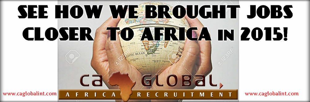 CA Global moving into Africa to offer more jobs (Newsletter 2015)