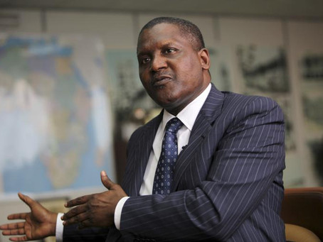 Aliko Dangote – The Richest Man in Africa wants the Construction industry