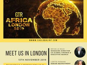 Meet us in London: GTR Africa London 2019