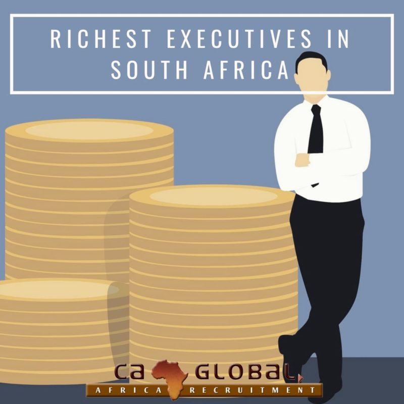 richest executives in South Africa