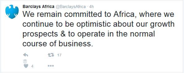 Barclays Africa Jobs Twitter CA Global1