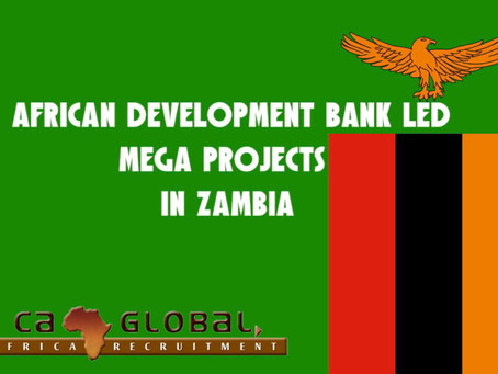 African Development Bank led mega projects in Zambia