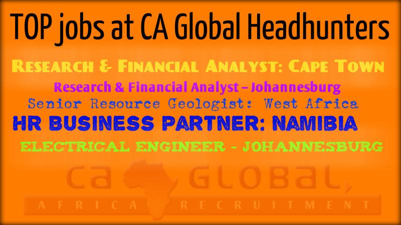 TOP 5 Africa Jobs_CA Global Headhunters_Jobs in Africa