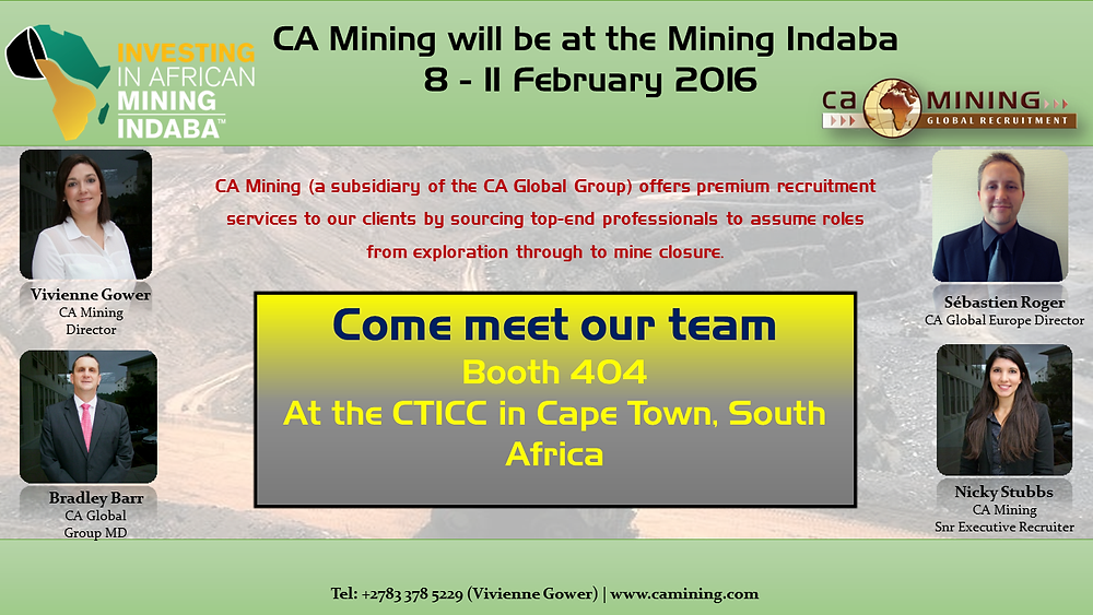2016 Investing in African Mining Indaba_Meet CA Mining (2)