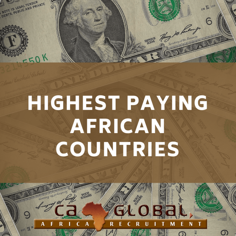 Highest Paying African Countries