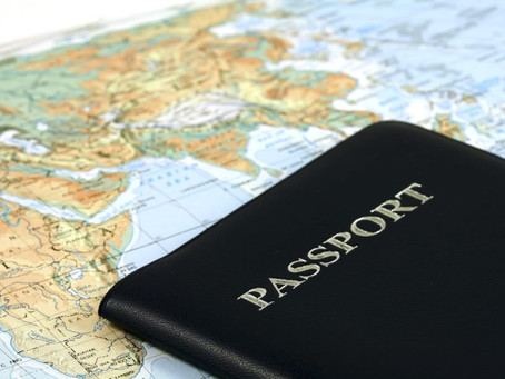 Single-Visa Passport set for Africa