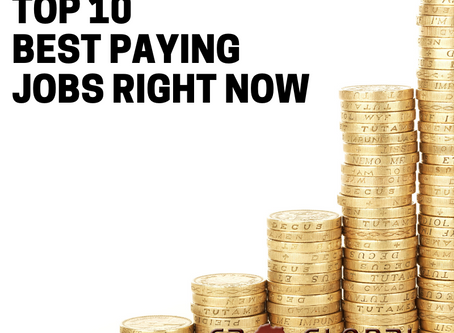 South Africa's Top 10 bests paying Jobs Right Now