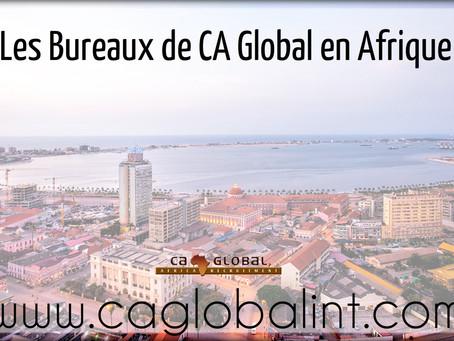 Les Bureaux de CA Global en Afrique
