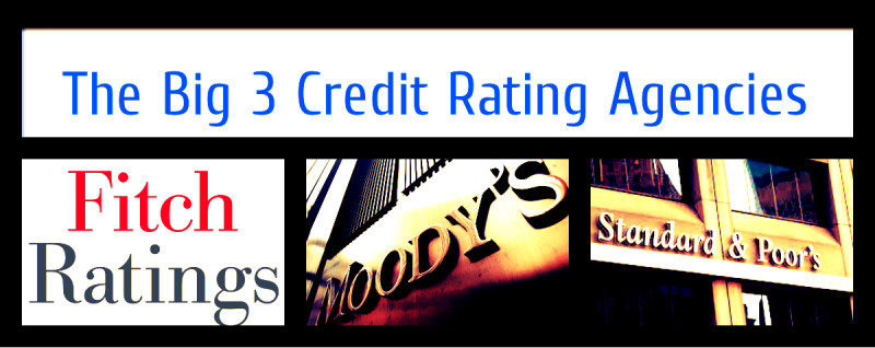 The Big 3 credit rating agencies_Standard & Poors _Moodys_Fitch Group_CA Global