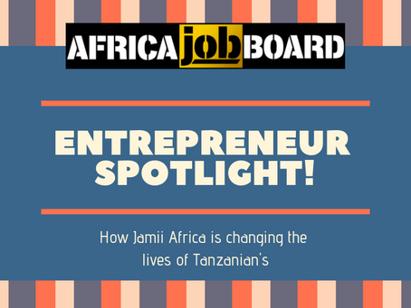 Entrepreneur spotlight! Jamii Africa