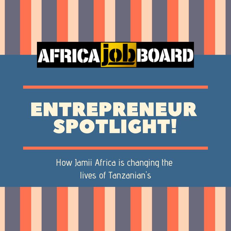 Entrepreneur spotlight - Jamii Africa