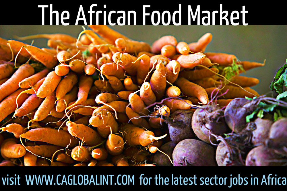 aFRICAN FOOD MARKET