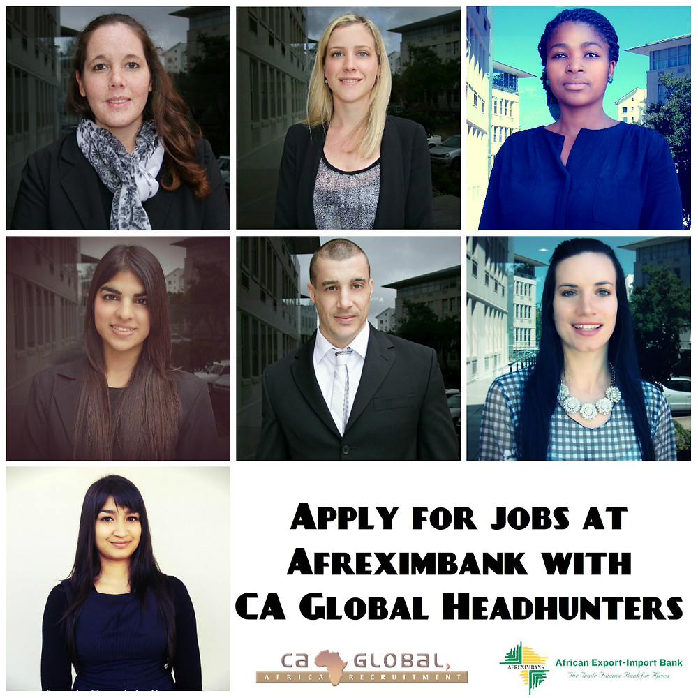 Afreximbank Vacancies Africa Jobs CA Global Team1
