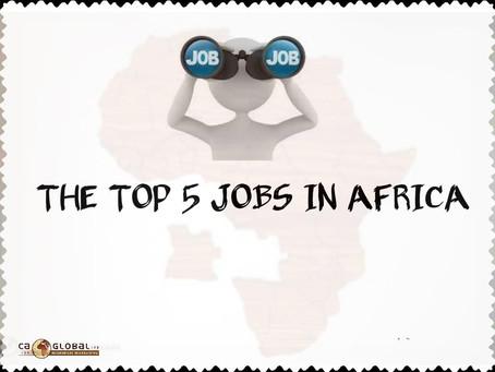 Jobs in Africa   Top 5 Jobs