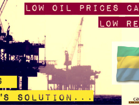 Low oil prices and low revenue – Here's Gabon's solution…