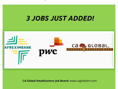 Afreximbank – PwC jobs in Africa
