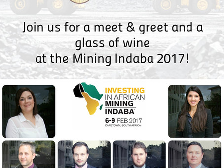 Mining Indaba 2017 – Meet the CA Mining Africa Recruitment Team