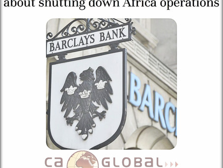 Barclays Africa: Truth about shutting down Africa operations