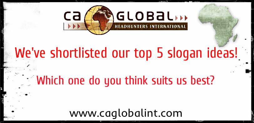 Which CA Global Headhunters slogan...